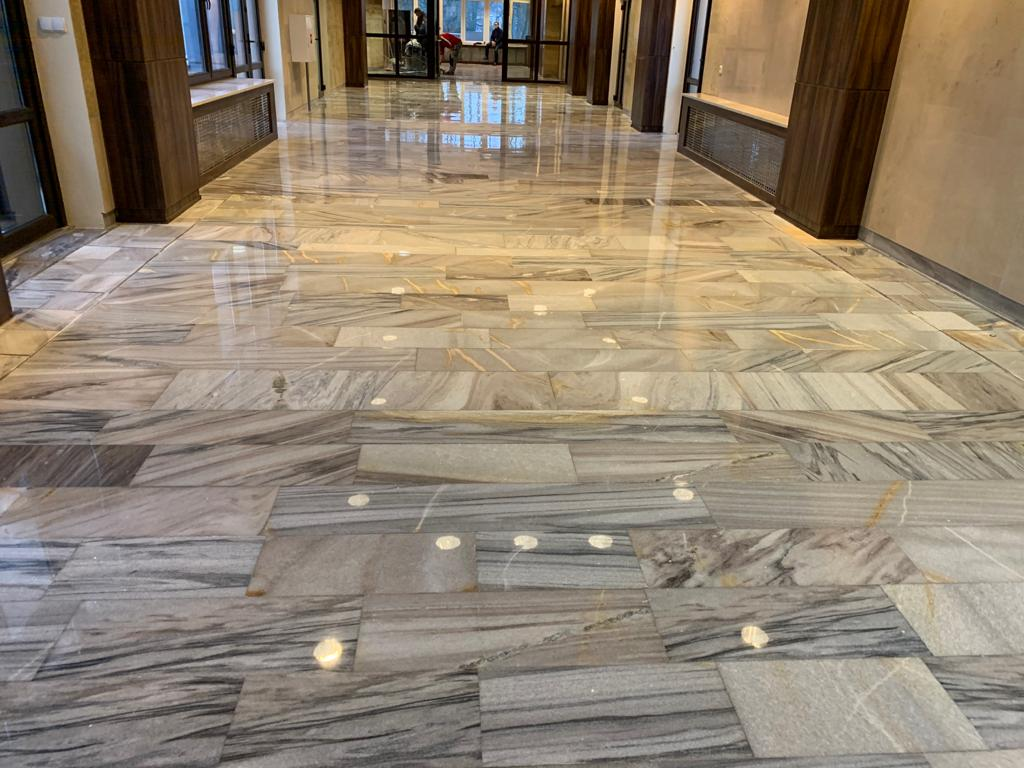 Public utilities / Renovation of marble flooring